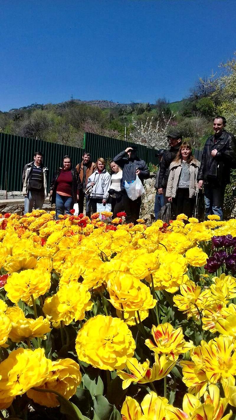Бал тюльпанов в Никитском ботаническом саду