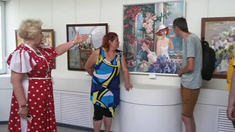 Традиционная летняя выставка
